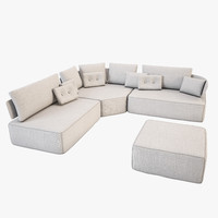 3ds max sofa fama pandore