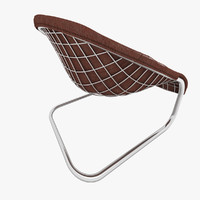 3d minotti cortina armchair chair