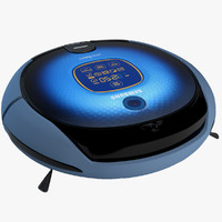 3d model robot vacuum cleaner