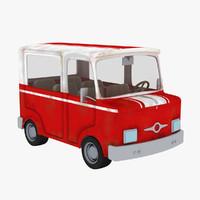3ds max truck interiors