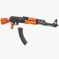maya ak-47 ak47 ready