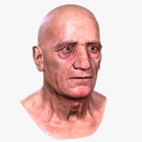 maya old man head