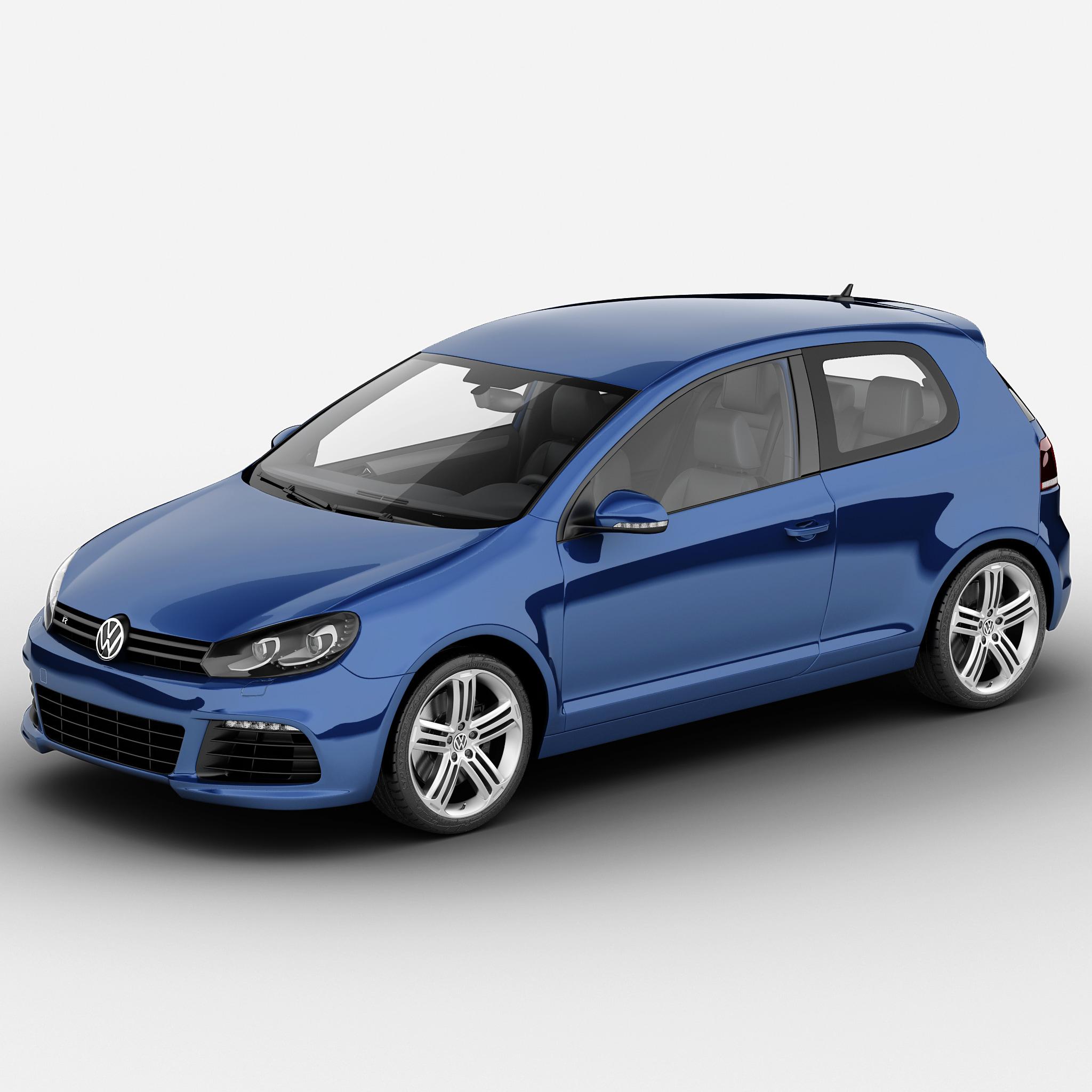 3d Volkswagen Golf R 2013