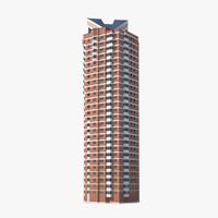 3d residental building