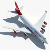 Boeing 747 Virgin Atlantic