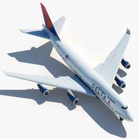 max boeing 747 delta