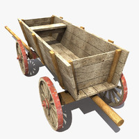Old Wooden Cart 2