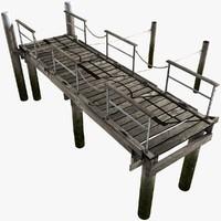 3d modeled pier module