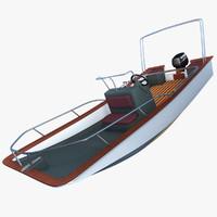 maya motorboat motor