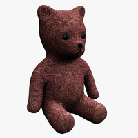 teddy bear fbx