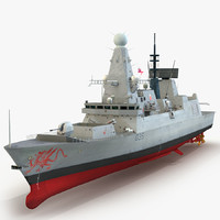 Destroyer HMS Dragon D35 Type 45