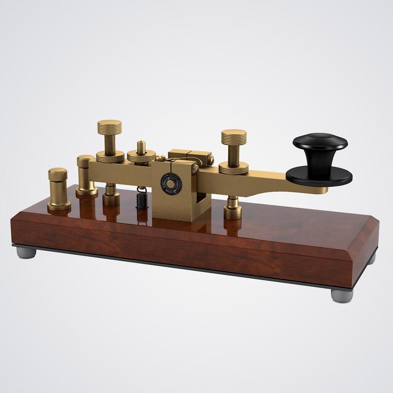 b Telegraph key 0001.jpg