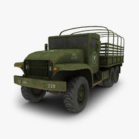 3d military truck