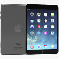 3d apple ipad air mini model