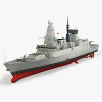 Destroyer HMS Daring D32 Type 45