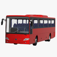 3d mercedes benz intouro 15 model