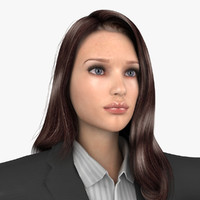 3dsmax business woman