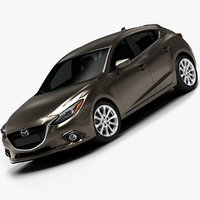 2014 Mazda 3 Hatchback (Low Interior)