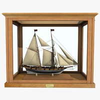 3d sailboat chasseur clipper