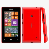 3d nokia lumia 525 red