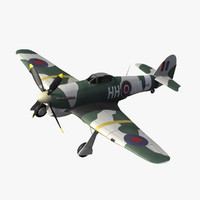 3d hawker typhoon