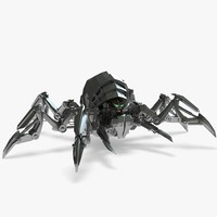 nical spider 3d max