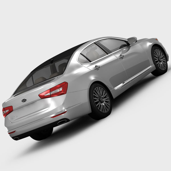 2014 Kia Cadenza Interior: Kia Cadenza Limited Luxury 3d Model