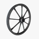 Wagon Wheel 3D models
