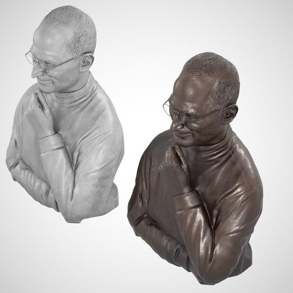 Decorative Bust Steve Jobs Ma