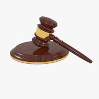 3d mallet gavel
