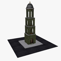 old belfry greek 3d max