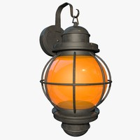 3ds max outdoor lantern