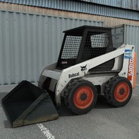 skidsteer skid steer 3d model
