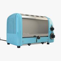 3d newgen toaster dualit model
