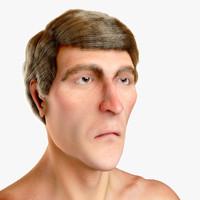 male figure 3d ma