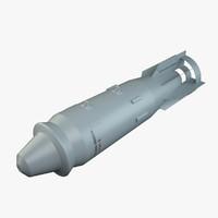 fab-1500-2600ts soviet russian explosive 3d obj
