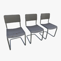 3d next-gen chairs model