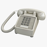 Traditional Retro Corded Phone