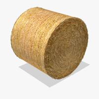 Hay Round Bale