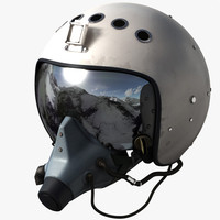 3d max russian flight helmet