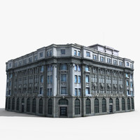 3ds max building europe european