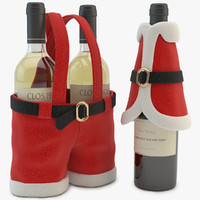 bottle decoration covers 3d model