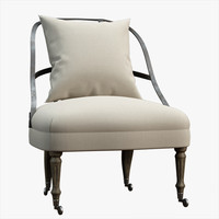 3d model chair lobby