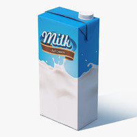milk package c4d