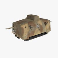a7v german tank