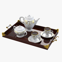 3ds max tea tray