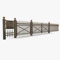 Palisade Fence 02