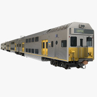 EMU City Rail K Set Passenger Train