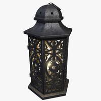 lantern candle x