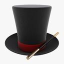 magic hat 3D models